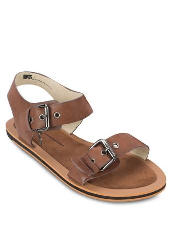 雙扣環esprit 高雄平底涼鞋, 女鞋, 鞋