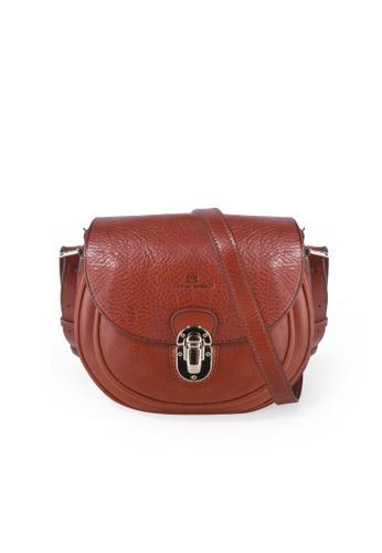 Charles Berkeley brown Charles Berkeley Italian Craftsmanship Sienna Vintage Style Sling Bag -07275 72DE6AC29C1E9AGS_1