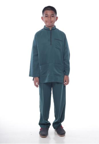 Denai Boutique green Baju Melayu Sayyed 11069KAEE5443EGS_1