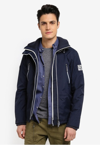 Superdry navy TECHNICAL WINDATTACKER 08539AA61E85F8GS_1