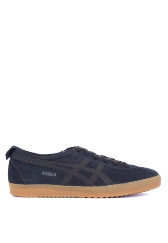 Onitsuka Tiger black and multi Mexico Delegation Lace-up Sneakers B4485SH8C076ABGS_1