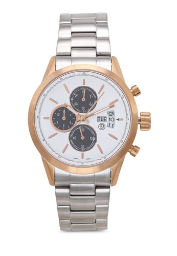 Massa Collections white Nobler Steel White Rose Watch for Men EC351AC907ACD5GS_1