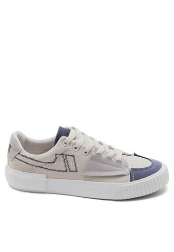 Twenty Eight Shoes Canvas Platform Sneakers BE8825 9FCD0SHBDCC49BGS_1