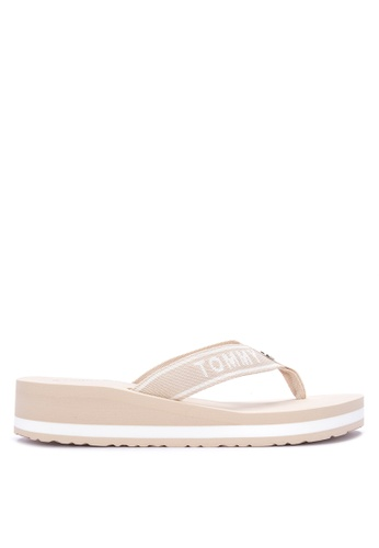 899b6dc82df Shop Tommy Hilfiger Tommy Brand Beach Slippers Online on ZALORA Philippines