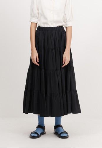 Bobo Tokyo black Spencer Skirt - Black 7E7C4AA45694C2GS_1
