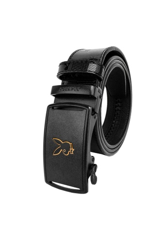 Playboy black Playboy 35mm Automatic Belt FF7A4ACCDB19EDGS_1