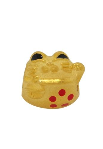 LITZ gold [Free Bracelet] LITZ 999 (24K) Gold Lucky Cat Charm EPC0680 25F38AC44D819BGS_1