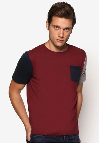 拼色基本款短袖TEEesprit outlet, 服飾, 素色T恤