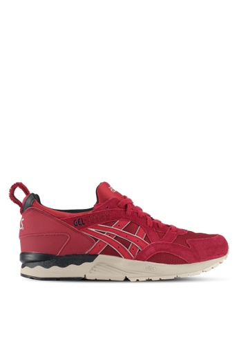 ASICSTIGER red Gel-Lyte V Shoes AS610SH0SVUXMY_1