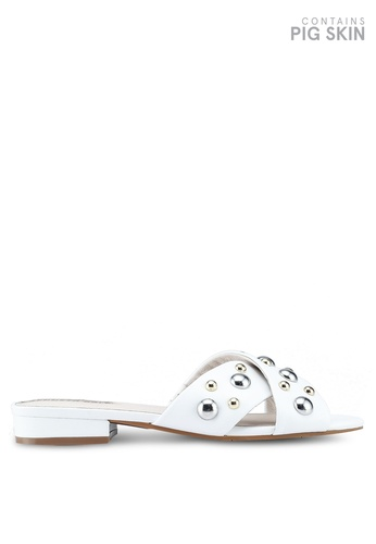 Kenneth Cole 白色 Verna Stud Sandals E5F86SH2A5F30AGS_1