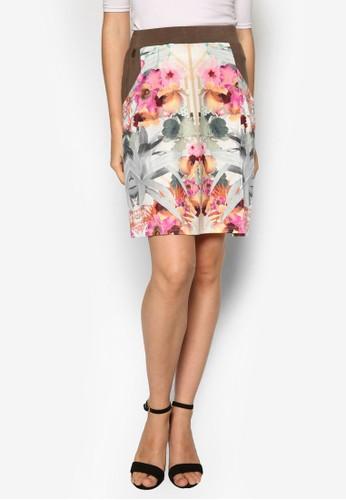 Kleesprit tote bagnot 印花短裙, 服飾, 服飾