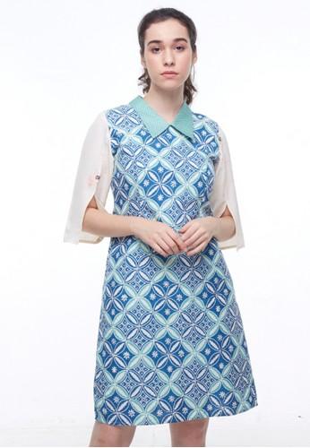 MADAME RABBIT blue Periwinkle Blue Dress E56AEAAB9136F3GS_1