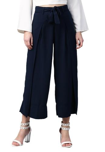 RedCheri 藍色 海军包裹裤子 F9991AAF77E03CGS_1