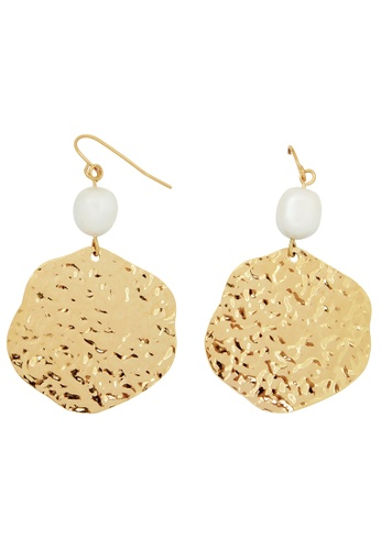 Pastiche gold Haven Earrings D5F88AC752A3F3GS_1