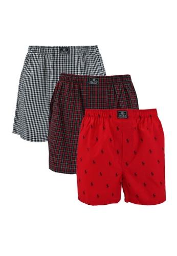 Polo Ralph Lauren multi 3-Pack Open Boxers ED3BFUS5D1F576GS_1