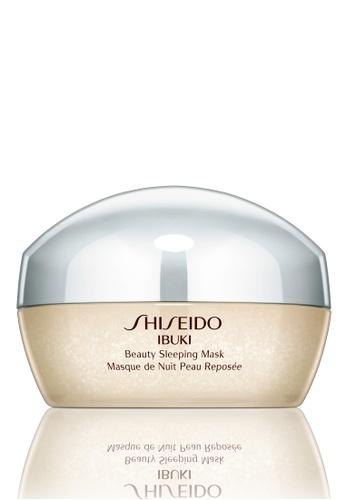 Shiseido beige Ibuki Beauty Sleeping Mask SH514BE0GQ4OSG_1