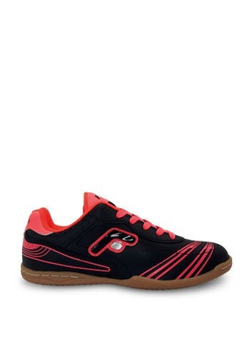 FANS black Fans CRV F - Men's Futsal Shoes Black Fuchsia FA469SH00FPZID_1