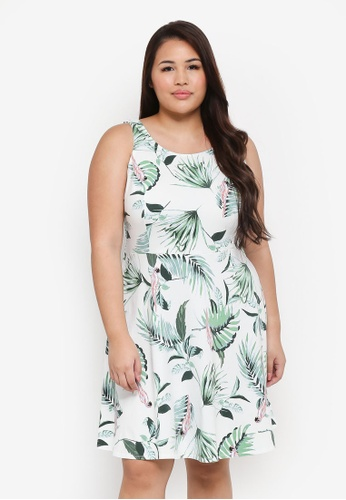 Dorothy Perkins white Plus Size Ivy Parrot Princess S 854A6AABA1AAE3GS_1