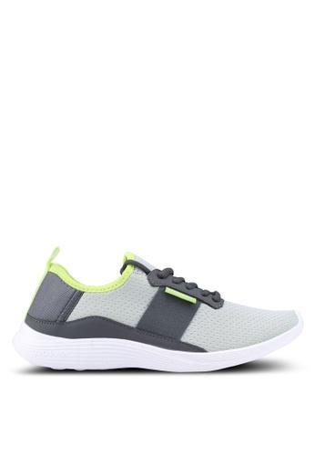 Power 灰色 and 黃色 Power 運動訓練鞋 7AA48SHF02875CGS_1