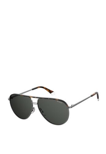 Polaroid grey Polaroid 2089/S/X Sunglasses C36AAGLC42F36EGS_1