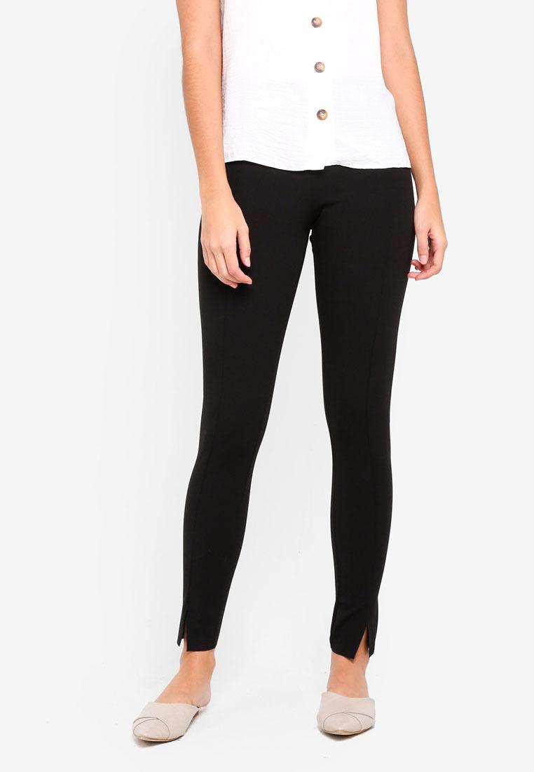 72e3515d16941 Black MISSGUIDED Black Cigarette Trousers Skinny Fit RSqxwXCpS ...