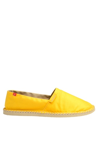 Havaianas yellow Origine III Slip-on Sneakers FF275SH1F61B52GS_1