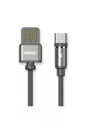 Stylebox black Remax RC-095a Gravity Series Data Cable for Type-C 050FFACD5CAA9CGS_1