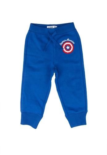 GAP blue Marvel Pull-On Joggers 799C6KA7A83EE4GS_1