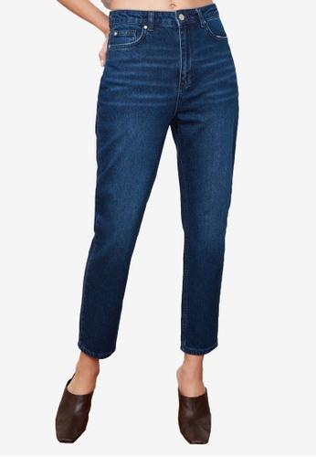 Trendyol blue High Waist Mom Jeans 4A4EAAA958B3FFGS_1