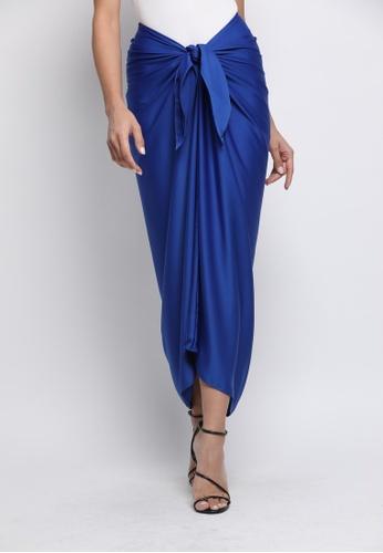 Klambi KL blue INSTANT PAREO ROYAL BLUE B6EC0AA19E169DGS_1