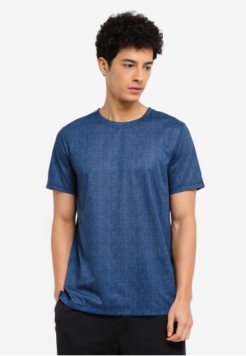 Cotton On navy Coar Active Tee AB25FAA9D1DB1CGS_1