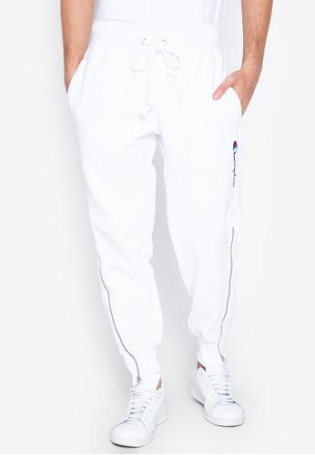 Champion white Reverse Weave Shift Pants 09113AAE71A7FAGS_1