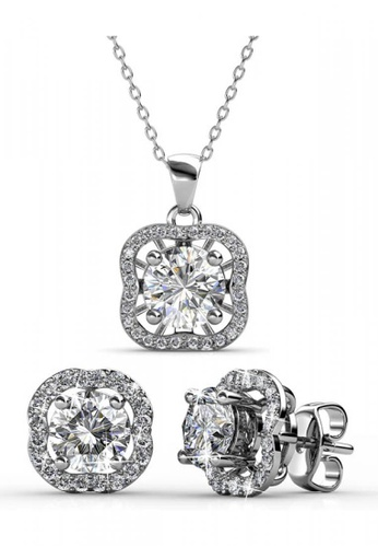 d9d9f509a Her Jewellery silver Royal Clover Set embellished with Crystals from  Swarovski 0D025AC74B4F5DGS_1