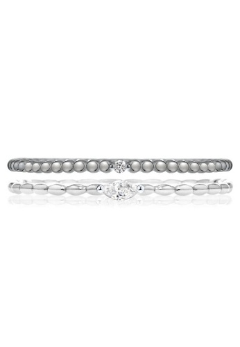 Morellato grey Morellato 1930 Stering Silver 925 Zircons Ladies Ring SAHA19014 A4080ACAF4D530GS_1