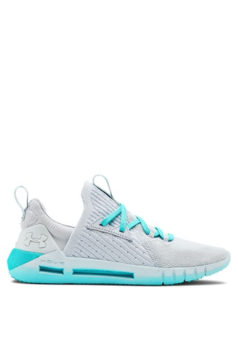 Under Armour grey UA W HOVR SLK EVO Sneakers 78792SHEBAFB74GS_1
