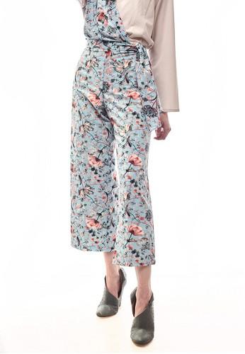 Aisaa Official blue Randa by Aisaa - Long Pants Full Printed 33E4FAA67FCEBBGS_1