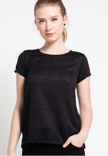 X8 black Anya Blouse X8323AA52YPJID_1