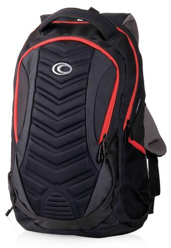 Ozone black Ozone Laptop Backpack 123 Raptor + Raincover - Merah F4F2EACDD4AC02GS_1