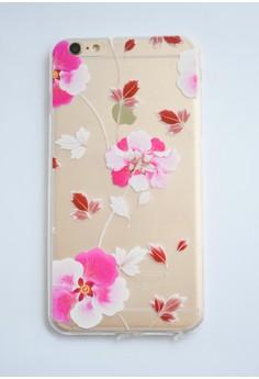 Orchids Transparent Soft Case for iPhone 6 plus/ 6s plus