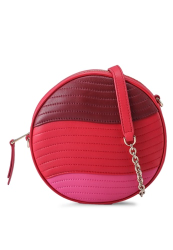 FURLA red Furla Swing Mini Round Crossbody Bag (nt) 7627AAC819770EGS_1