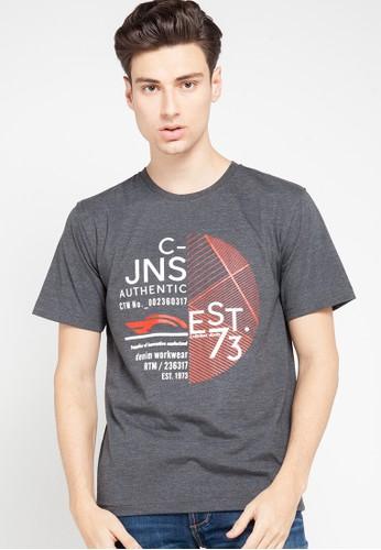 """Cardinal grey T-Shirt """"C-Jns"""" 94DBCAAEE90B81GS_1"""