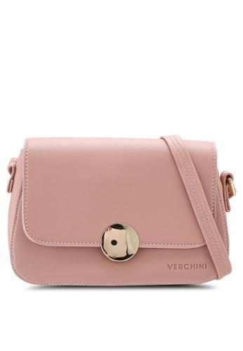 Verchini pink Verchini Magnus Sling Bag F74F5ACD4A3D49GS_1