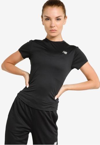 New Balance black Accelerate Short Sleeve T-Shirt 1D21CAA95F9CA1GS_1