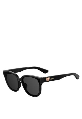Moschino black MOS060/F/S Sunglasses 95135GLA6B1DF9GS_1
