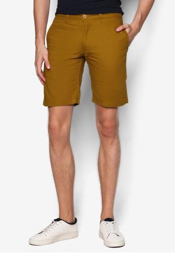 棉質窄管短褲esprit 鞋, 服飾, 短褲