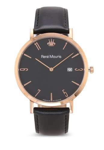 René Mouris black L'Emporter - 41mm Classic Quartz Watch BB113ACD8A518AGS_1