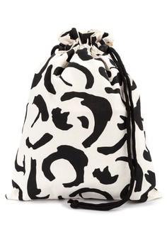 Scribble Shoe Bag