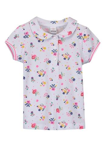 LC Waikiki white Printed Standard Short Sleeve T-Shirt 8E31DKAE540D71GS_1