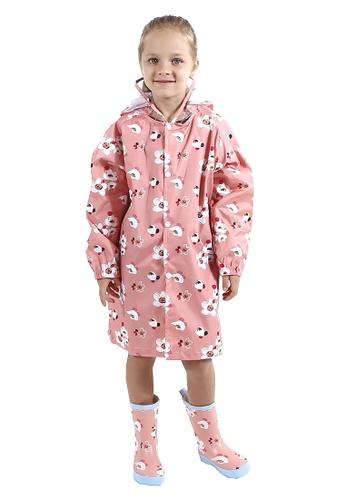 Twenty Eight Shoes pink VANSA Fashion Cartoon Raincoat VCK-R002 F40FDKA7747228GS_1
