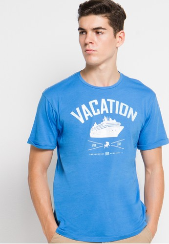 Lois Jeans blue Short Sleeve T-Shirt LO391AA84MBZID_1
